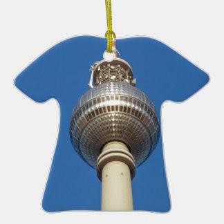 Fernsehturm Television Tower Berlin Christmas Ornament