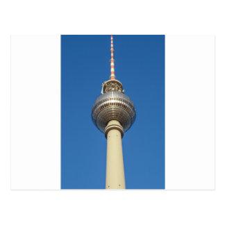 Fernsehturm Television Tower Berlin Postcard