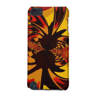 Ferocious, Abstract Amber and Orange Creature iPod Touch 5G Covers