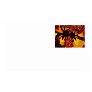 Ferocious – Amber & Orange Creature Business Card