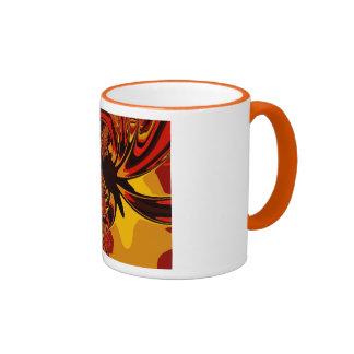 Ferocious – Amber & Orange Creature Coffee Mug