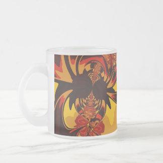 Ferocious – Amber & Orange Creature Coffee Mugs
