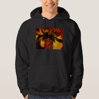 Ferocious – Amber & Orange Creature Hoodie