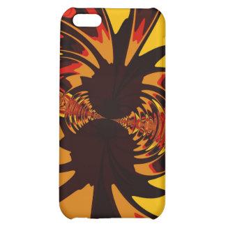 Ferocious – Amber & Orange Creature iPhone 5C Covers