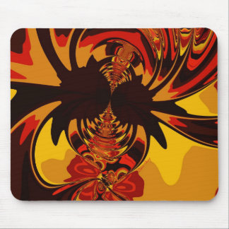 Ferocious – Amber Orange Creature Mousepads