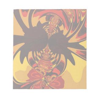 Ferocious – Amber & Orange Creature Note Pads