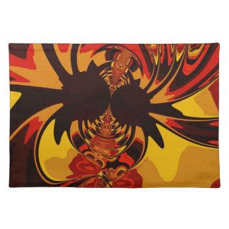 Ferocious – Amber & Orange Creature Placemat