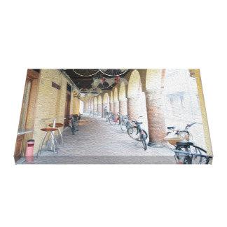 Ferrara ad Olio Canvas Print