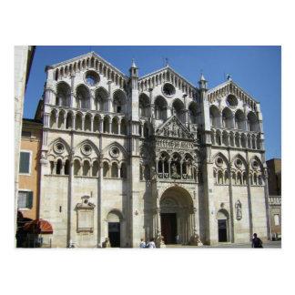 Ferrara( Italy) - cattedrale Postcard