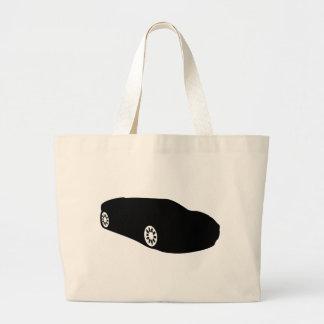 ferrari racing car auto black tote bag