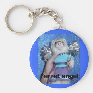 ferret angel key ring