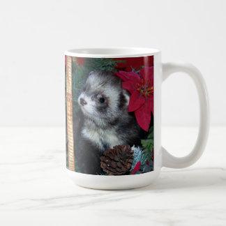Ferret Christmas Mug