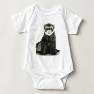 Ferret fun! baby bodysuit