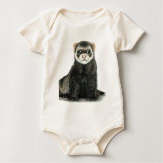 Ferret fun! baby bodysuit