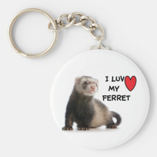 Ferret Keychain