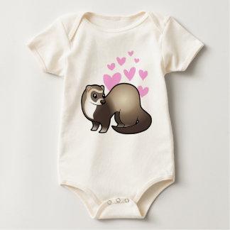 Ferret Love Baby Bodysuit