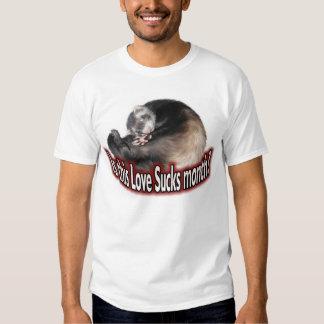 Ferret Love Sucks Tshirt