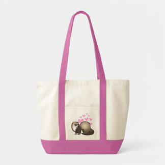 Ferret Love Tote Bag