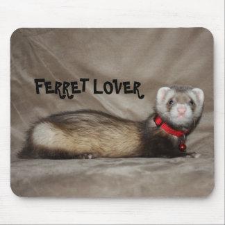 FERRET LOVER MOUSE MAT