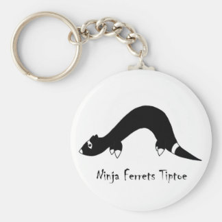 Ferret Ninja Key Ring