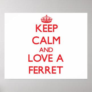 Ferret Print