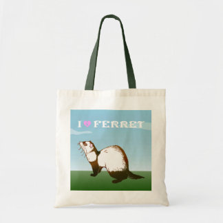 ferret (sable coat) tote bag