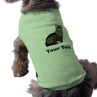 Ferret Sleeveless Dog Shirt