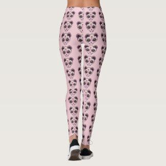 Ferret Sugar Skull Pink Leggings