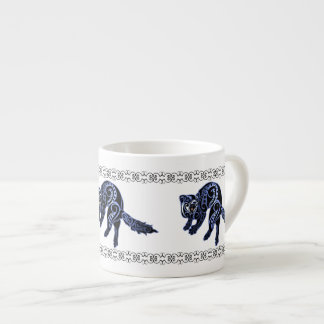 Ferret Trybe: War Dance! Espresso Mug