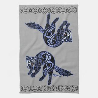 Ferret Trybe: War Dance! Tea Towels