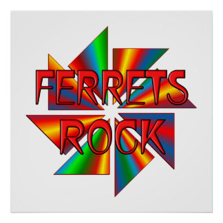 Ferrets Rock Posters