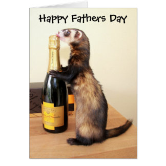 Ferrety Fathers Day Card