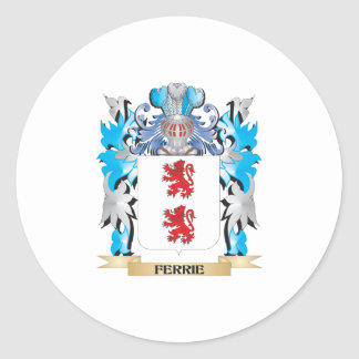 Ferrie Coat of Arms - Family Crest Stickers