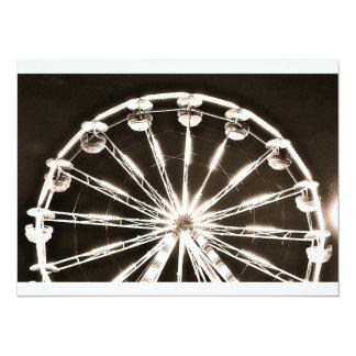 Ferris Wheel 14 Cm X 19 Cm Invitation Card
