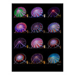 Ferris Wheel 18X24 Print