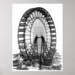 Ferris Wheel at Chicago World's Fair Poster