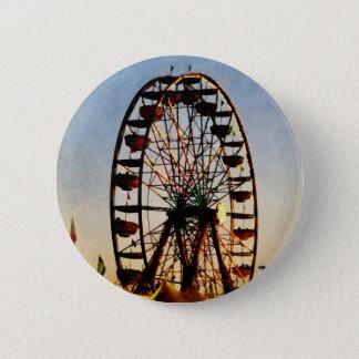 Ferris Wheel at Night 6 Cm Round Badge