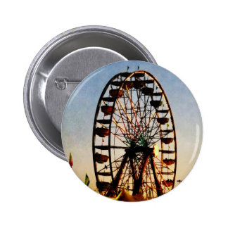 Ferris Wheel at Night 6 Cm Round Badge