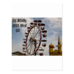 Ferris Wheel at Palace Playland Old Orchard Beach Post Card