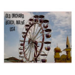 Ferris Wheel at Palace Playland Old Orchard Beach Postcards