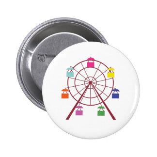 Ferris Wheel Pinback Button