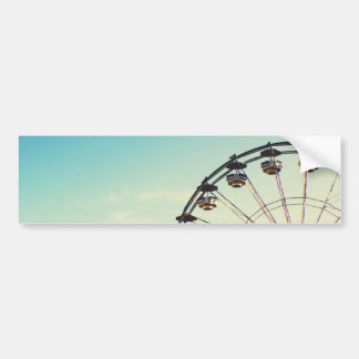 Ferris Wheel Bumper Sticker