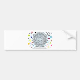 Ferris_Wheel Bumper Sticker