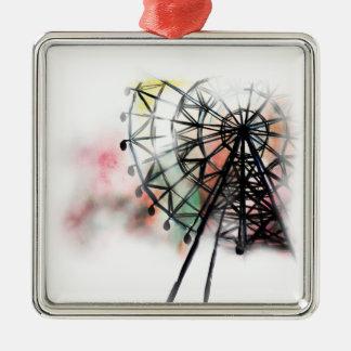 Ferris Wheel Christmas Ornament