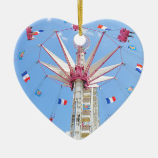 Ferris wheel christmas ornament