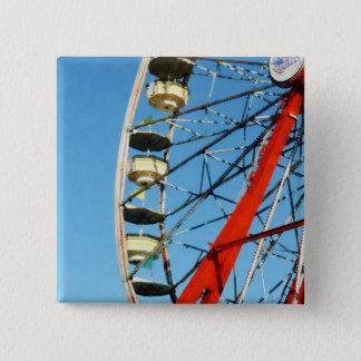 Ferris Wheel Closeup 15 Cm Square Badge