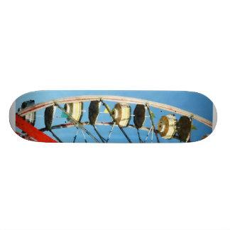 Ferris Wheel Closeup Skate Board Deck