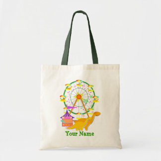 Ferris Wheel Dinosaurs Gift Bag