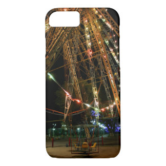 Ferris Wheel in Turkmenistan: Cool Vintage Photo iPhone 8/7 Case