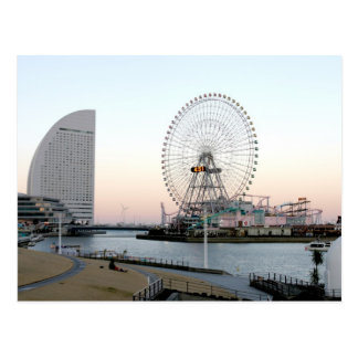 Ferris Wheel in Yokohama Japan Postcard